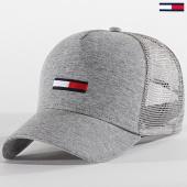 /achat-trucker/tommy-hilfiger-casquette-trucker-femme-flag-6948-gris-chine-187949.html