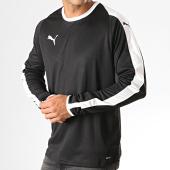/achat-t-shirts-manches-longues/puma-tee-shirt-manches-longues-a-bandes-liga-703419-noir-188011.html