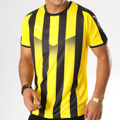 /achat-t-shirts/puma-tee-shirt-de-sport-a-bandes-liga-703424-noir-jaune-188016.html