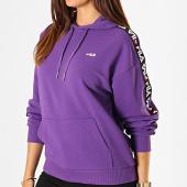 /achat-sweats-capuche/fila-sweat-capuche-femme-a-bandes-clara-687073-violet-noir-blanc-188111.html