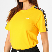 /achat-t-shirts/fila-tee-shirt-femme-a-bandes-adalmiina-687215-jaune-noir-blanc-188114.html