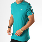 /achat-t-shirts/fila-tee-shirt-a-bandes-vainamo-687217-vert-188116.html