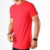 /achat-t-shirts/fila-tee-shirt-a-bandes-vainamo-687217-rouge-noir-blanc-188118.html
