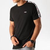 /achat-t-shirts/fila-tee-shirt-a-bandes-vainamo-687217-noir-blanc-rouge-188119.html