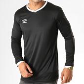 /achat-t-shirts-manches-longues/umbro-tee-shirt-de-sport-manches-longues-cup-jersey-570260-60-noir-blanc-188128.html