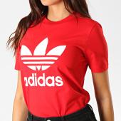 /achat-t-shirts/adidas-tee-shirt-femme-trefoil-ed7493-rouge-blanc-188242.html