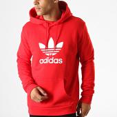 /achat-sweats-capuche/adidas-sweat-capuche-trefoil-ej9680-rouge-188250.html