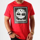 /achat-t-shirts/timberland-tee-shirt-stack-logo-a1oa2-rouge-noir-188197.html