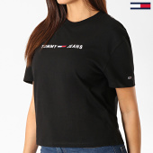 /achat-t-shirts/tommy-jeans-tee-shirt-femme-clean-linear-logo-7429-noir-blanc-188186.html
