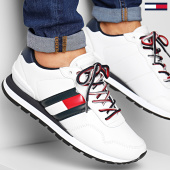 /achat-baskets-basses/tommy-jeans-baskets-leather-lifestyle-sneaker-em0em00349-white-188226.html