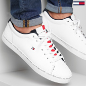 /achat-baskets-basses/tommy-hilfiger-baskets-essential-leather-vulcan-fm0fm02378-white-188229.html