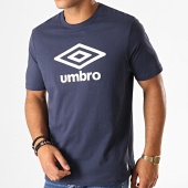 /achat-t-shirts/umbro-tee-shirt-729280-60-bleu-marine-blanc-188176.html