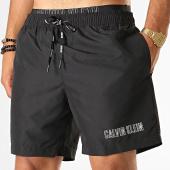 /achat-maillots-de-bain/calvin-klein-short-de-bain-medium-double-waistband-km0km00300-noir-blanc-188338.html