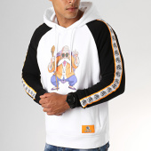 /achat-sweats-capuche/dragon-ball-z-sweat-capuche-a-bandes-kame-blanc-noir-188350.html