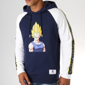 /achat-sweats-capuche/dragon-ball-z-sweat-capuche-a-bandes-vegeta-bleu-marine-blanc-188351.html