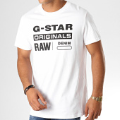 /achat-t-shirts/g-star-tee-shirt-graphic-8-d14143-336-blanc-noir-188363.html