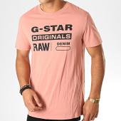 /achat-t-shirts/g-star-tee-shirt-graphic-8-d14143-336-rose-noir-188365.html