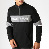 /achat-sweats-col-zippe/project-x-sweat-col-zippe-reflechissant-1920040-noir-gris-metallise-188378.html