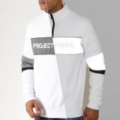 /achat-sweats-col-zippe/project-x-sweat-col-zippe-reflechissant-1920040-blanc-gris-metallise-188380.html