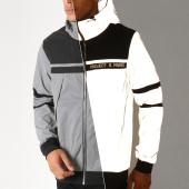 /achat-vestes/project-x-veste-zippee-capuche-reflechissant-1930046-gris-noir-188384.html