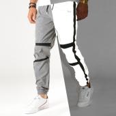 /achat-pantalons-joggings/project-x-pantalon-jogging-reflechissant-avec-bandes-1940046-gris-metallise-noir-188388.html