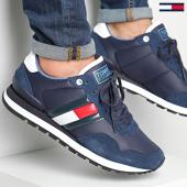 /achat-baskets-basses/tommy-hilfiger-jeans-baskets-lifestyle-sneaker-em0em00338-navy-188421.html