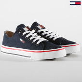 /achat-baskets-basses/tommy-hilfiger-jeans-baskets-femme-low-cut-tj-sneaker-en0en00681-navy-188434.html