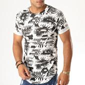 /achat-t-shirts-longs-oversize/uniplay-tee-shirt-oversize-floral-destroy-uy419-blanc-noir-188307.html