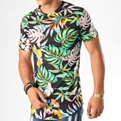 /achat-t-shirts-longs-oversize/uniplay-tee-shirt-oversize-floral-kxt-39-noir-188321.html