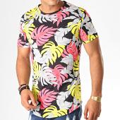 /achat-t-shirts-longs-oversize/uniplay-tee-shirt-oversize-floral-kxt-40-noir-188323.html