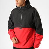 /achat-vestes/element-veste-zippee-capuche-primo-pop-noir-rouge-188532.html