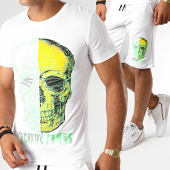 /achat-ensembles-survetement/john-h-ensemble-tee-shirt-short-esh06-es06-blanc-188476.html