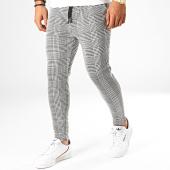 /achat-pantalons-carreaux/john-h-pantalon-carreaux-k2-noir-blanc-188506.html
