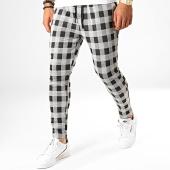 /achat-pantalons-carreaux/john-h-pantalon-carreaux-k3-blanc-noir-188527.html