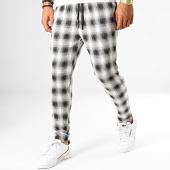 /achat-pantalons-carreaux/john-h-pantalon-carreaux-k4-blanc-noir-188528.html