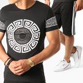 /achat-ensembles-survetement/john-h-ensemble-tee-shirt-short-a-bandes-esh10-es10-noir-renaissance-188529.html