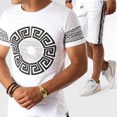 /achat-ensembles-survetement/john-h-ensemble-tee-shirt-short-jogging-a-bandes-renaissance-esh10-blanc-noir-188540.html