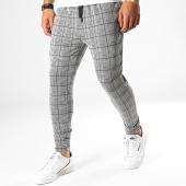 /achat-pantalons-carreaux/john-h-pantalon-a-carreaux-k6-noir-blanc-188542.html