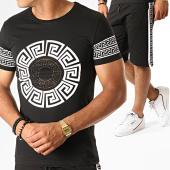 /achat-ensembles-survetement/john-h-ensemble-tee-shirt-short-jogging-a-bandes-renaissance-esh10-noir-blanc-188575.html