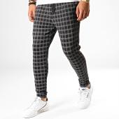 /achat-pantalons-carreaux/john-h-pantalon-a-carreaux-k11-noir-gris-188576.html