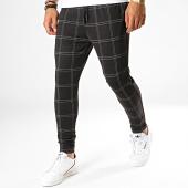 /achat-pantalons-carreaux/john-h-pantalon-a-carreaux-k10-noir-blanc-188577.html