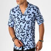 /achat-chemises-manches-courtes/mackten-chemise-manches-courtes-222443-bleu-clair-bleu-marine-188619.html