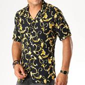 /achat-chemises-manches-courtes/mackten-chemise-manches-courtes-floral-222422-noir-jaune-188628.html