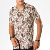 /achat-chemises-manches-courtes/mackten-chemise-manches-courtes-bandana-g-011-d1-beige-marron-bordeaux-188629.html