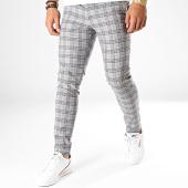 /achat-pantalons-carreaux/mackten-pantalon-carreaux-28043-gris-bleu-rouge-beige-188642.html
