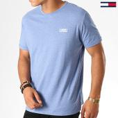 /achat-t-shirts/tommy-hilfiger-jeans-tee-shirt-modern-jaspe-4559-bleu-clair-chine-188534.html