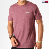 /achat-t-shirts/tommy-hilfiger-jeans-tee-shirt-modern-jaspe-4559-bordeaux-chine-188536.html
