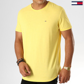 /achat-t-shirts/tommy-jeans-tee-shirt-slim-essential-jaspe-4792-jaune-188546.html