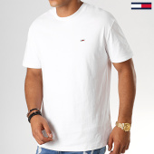 /achat-t-shirts/tommy-jeans-tee-shirt-classics-6061-blanc-188548.html