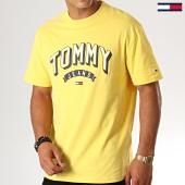 /achat-t-shirts/tommy-hilfiger-jeans-tee-shirt-essential-3d-logo-7014-jaune-188557.html